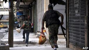 مخالفان مسلح در حلب