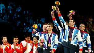 Equipo británico de gimnasia