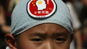 香港推动国民教育引起的争议至今仍未停息