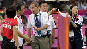Tranh cãi trong trận Hàn Quốc gặp Indonesia