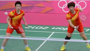 Đôi vợt cầu lông nữ Trung Quốc