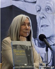María Kodama, viuda de Jorge Luis Borges