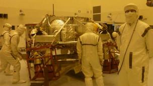 Miguel San Martín en la NASA