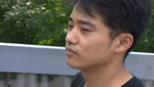 O ex-atleta Zhang Shang Wu (BBC)