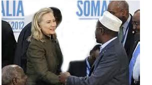 Hillary Clinton akikutana na wawakilishi wa Somalia, mjini Nairobi