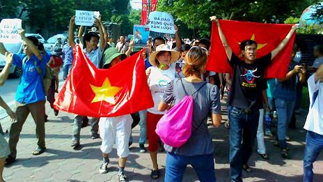 Những người biểu tình chống Trung Quốc lần thứ 4