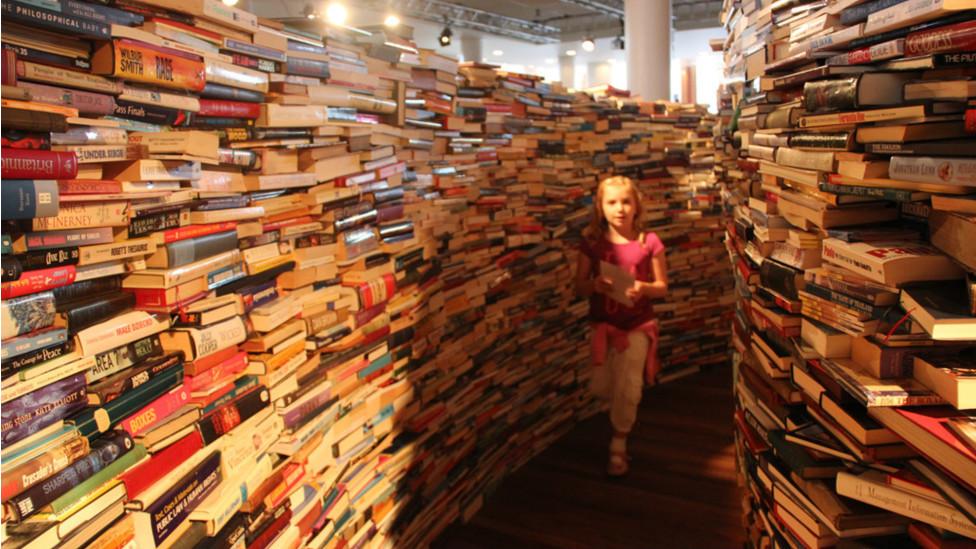 圖書迷宮是由阿根廷作家J L Borges的作品啟發而成。Borges的作品描繪了大量夢幻的、超現實的場景。