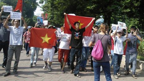 Cuộc biểu tình chống Trung Quốc tại Hà Nội vào ngày 5/8