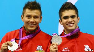 Germán Sánchez e Iván García