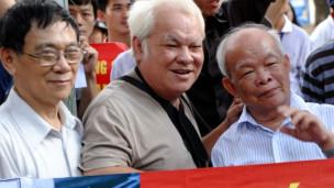 Một số nhân sỹ trí thức tham gia biểu tình chống Trung Quốc