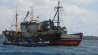 One of the vessels detained by the navy
