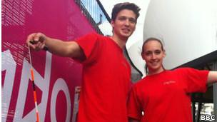 Joseph Edney e Rachael Dale. | Foto: BBC