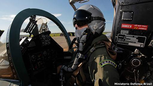piloto militar brasileño