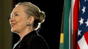 Hillary Clinton trong chuyến công du châu Phi mới đây