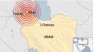 Gempa Iran