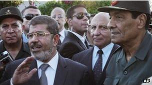 Mursi y Tantawi