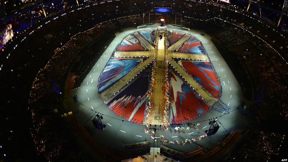 церемонию закрытия летних олимпийских игр в Лондоне 2012