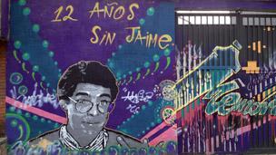 Mural en homenaje a Jaime Garzón en Bogotá