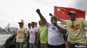 启丰二号原本计划与台湾的中华保钓会共同前往钓鱼台海域