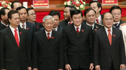 Các lãnh đạo Bộ Chính trị Đảng CSVN