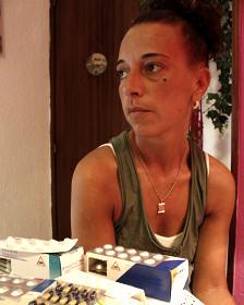 Isabel Campov Urutia, 39 anos, espanhola desempregada.