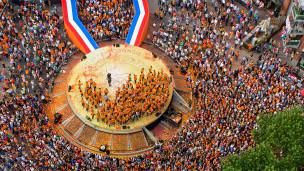 Встреча олимпийцев в Нидерландах
