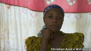 Vitima de estupro (Foto Christian Aid e Will Storr)