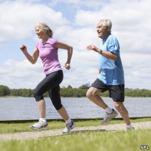 跑步是种很好的锻炼