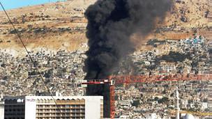 Mlipuko wa bomu Damascus