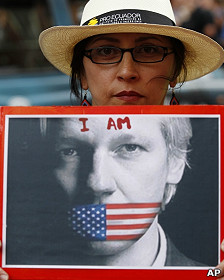 Apoio a Assange