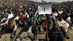 Mgomo wa wachimba migodi Marikana