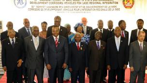 Abakuru b'ibihugu bya SADC