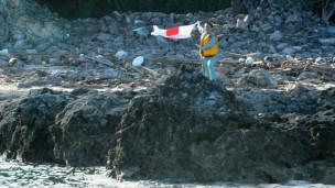 Nhà hoạt động Nhật vẫy quốc kỳ trên quần đảo Senkaku/Điếu Ngư