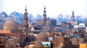 Mji wa Cairo kwenye kituo cha televisheni cha Al-Faraeen