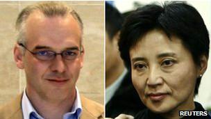 Ông Neil Heywood và bà Cốc Khai Lai