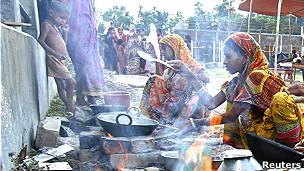 Muslim refugees in Assam