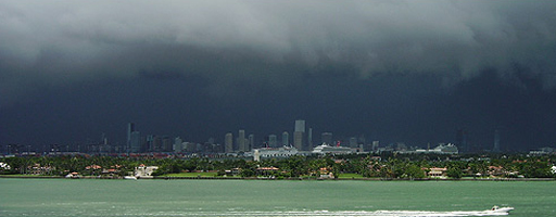Miami visto desde Miami Beach