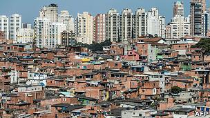 Favela de Paraisópolis (Foto AFP)