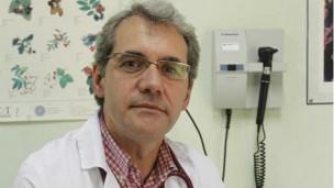 El médico español Salvador Tranche