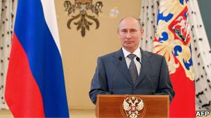 Vladimir Putin   Crédito da foto: AFP