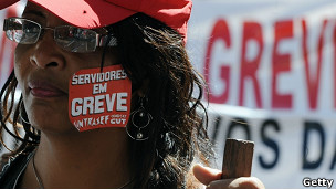 Huelga en Brasil