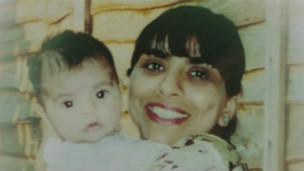 Daksha y su hija