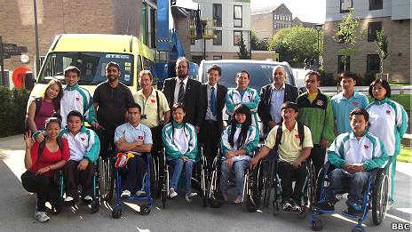 Đoàn Paralympics Việt Nam tại Anh