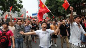 中国反日游行