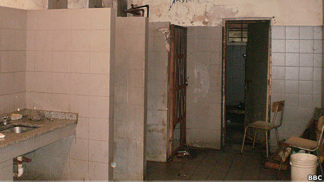 Baño en el Hospital Borda de BsAs