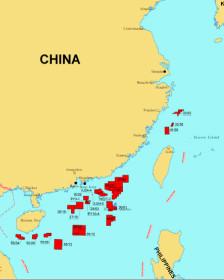 26 lô theo bản đồ của CNOOC