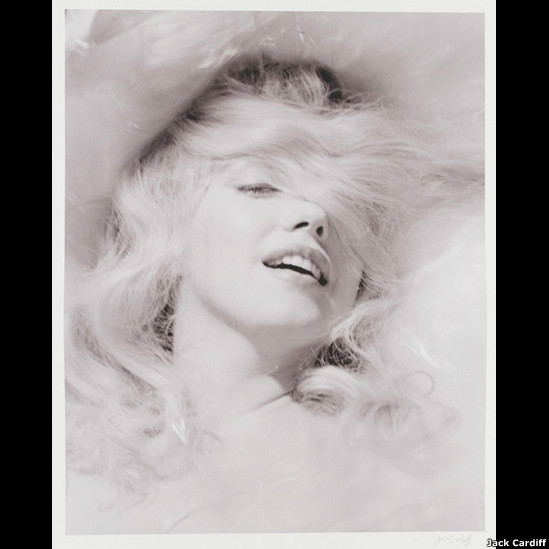 Marilyn Monroe, por Jack Cardiff ©