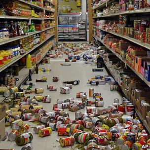 Impacto de los sismos en Calfornia