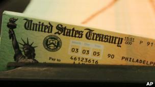 Cheque del seguro social