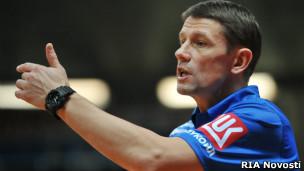 Тренер женской сборной РФ по волейболу Сергей Овчинников